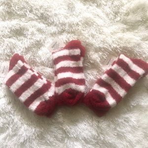 PLUSH CREW SOCKS BY  a•new.day. (NWT)